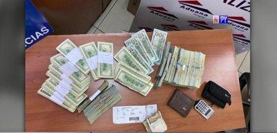 Presunto tráfico de divisas en el Silvio Pettirossi