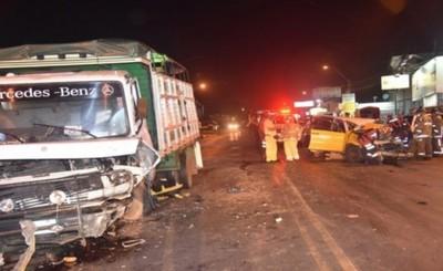 Un fallecido en accidente de tránsito en Capiatá