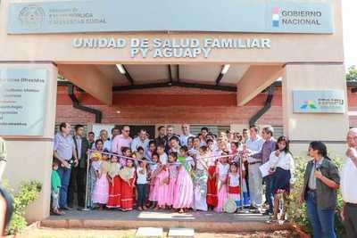 Inauguran dos renovadas USF en San Pedro para brindar mayor comodidad a pobladores