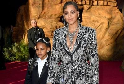 Blue Ivy, la hija de Beyoncé y Jay-Z ganó su primer premio como compositora
