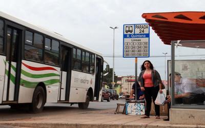 Gobierno paga el subsidio y se normaliza transporte público