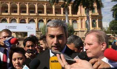 """Abdo dijo que evaluará con sus asesores el pedido de detención contra Cartes: """"No hay intocables en Paraguay"""""""