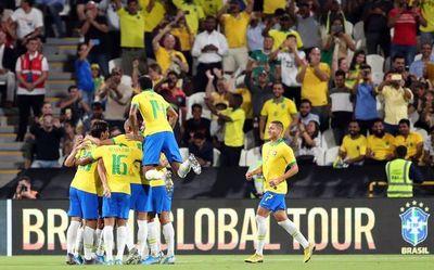 Brasil despide el 2019 con una goleada ante Corea