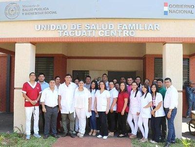 Gobierno habilita mejoras en dos Unidades de Salud Familiar en San Pedro