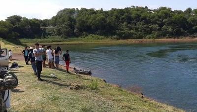 HOY / Pdte. Franco: dos estudiantes terminaron ahogados en aguas del Río Paraná