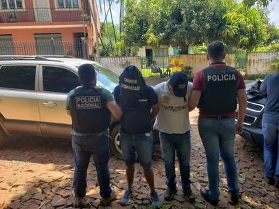 Detienen a presuntos asaltantes en Ñemby