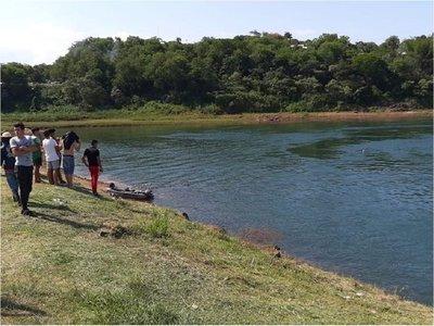 Adolescentes desaparecen en el río Paraná en Presidente Franco