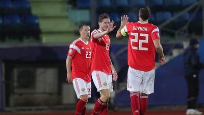 Rusia golea a San Marino