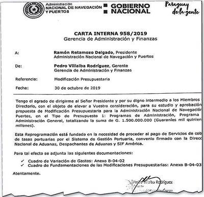 ANNP quiso pagar G. 1.500 millones a SIF América, pero le frenó la DNCP