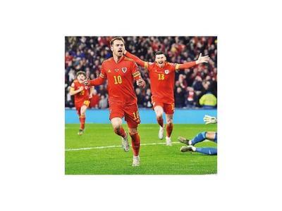 Gales cerró el cupo de Euro