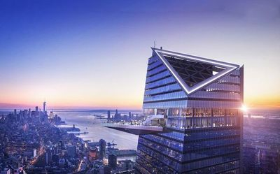 """Nuevas perspectivas de Nueva York: En marzo 2020 abre mirador """"Edge"""""""