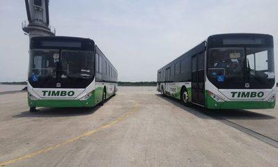 Buses eléctricos circularán la próxima semana