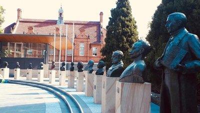 Busto del Mariscal Francisco Solano López fue colocado en Sidney