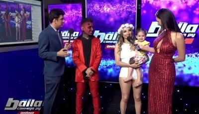 """Marilina y Will fueron al """"Baila Online"""" con su hija Melody"""