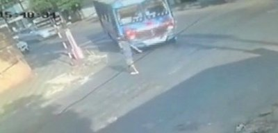Bus arrolla y mata a peatón en San Lorenzo