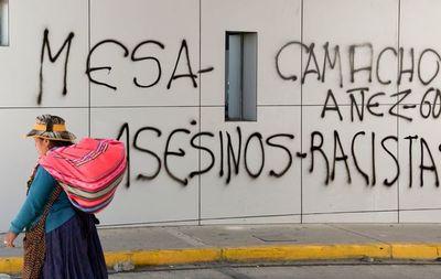 Gobierno boliviano da ultimátum al Legislativo en día violento con 3 muertos