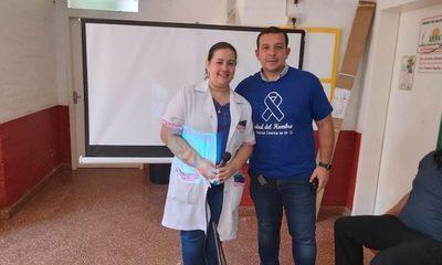 Alrededor de mil hombres consultaron con el Urólogo en Minga Guazú