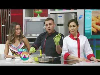 Tapa cuadril al romero y Calamares a la Romana en la cocina de Vive la Vida
