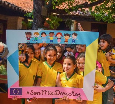 Títeres enseñaron a niños sobre sus derechos en Guarambaré