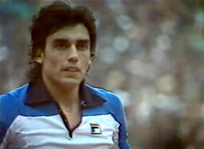 Victor Pecci, a 40 años de la excelencia en el Roland Garros