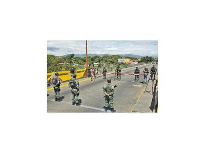 Colombia cierra fronteras y afronta gran paro nacional