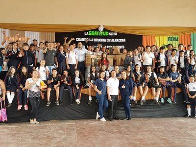 Proyecto #Conectados llegó a Escuela y Colegio España