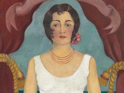 """La """"Mujer de blanco"""" de Kahlo, subastada por USD 5,8 millones"""