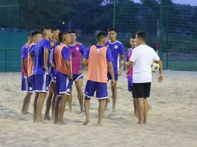 Los Pynandi debutan este jueves en Mundial de Fútbol de Playa Paraguay-FIFA