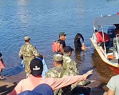 Rescatan a uno de los alumnos del colegio Área 5 que desaparecieron en el Paraná