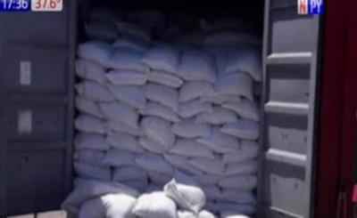 Contenedor paraguayo con 3 toneladas de cocaína cae en Uruguay
