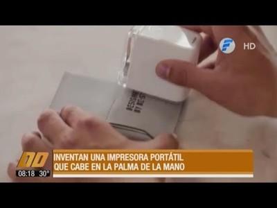 La impresora portátil a color que cabe en la palma de la mano