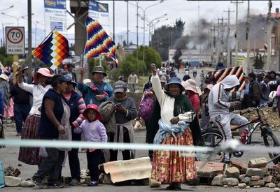 Congresistas bolivianos trabajan a todo vapor para convocar a elecciones