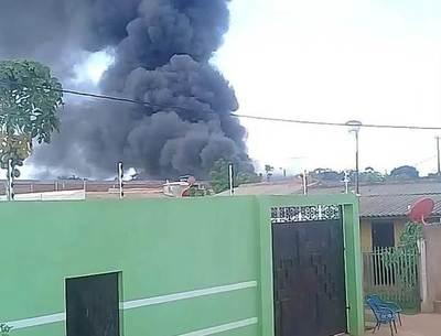 Cae helicóptero de la SENAD en Pedro Juan Caballero