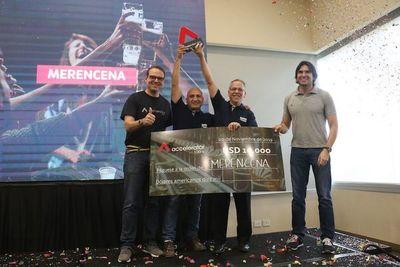 Merencena conquistó el concurso Accelerator 100+