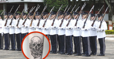 Quisieron tapar tatuajes ha ojepilla