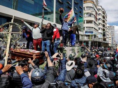 Congreso boliviano apura llamado a elecciones ante incesante crisis