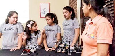 Clases gratuitas de robótica para niños