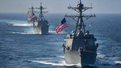 """China acusó a Estados Unidos de """"provocación"""" por el paso de dos buques de guerra"""