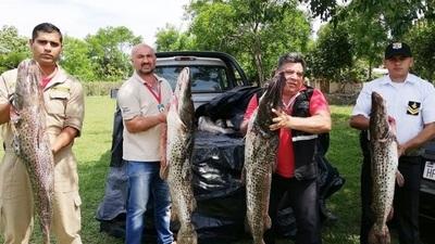 Veda pesquera: Decomisan y donan importante cantidad de pescados