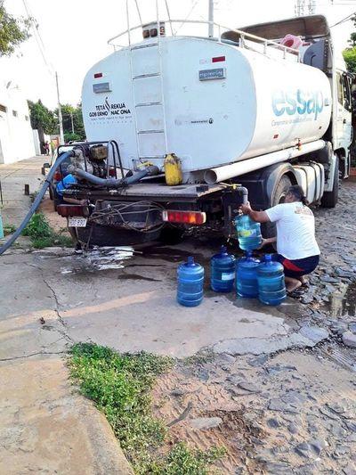 Al menos 40 mil usuarios de Essap siguen sin agua
