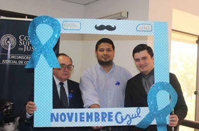 Brindan charla informativa sobre cáncer de próstata