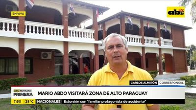 Mario Abdo visitará zona de Alto Paraguay