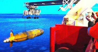 La NASA prueba vehículo espacial en los abismos de isla griega de Santorini