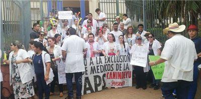 Médicos de APS reclaman pago de compensación salarial