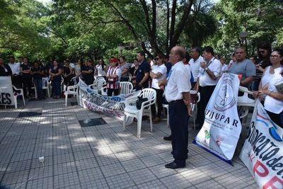 Abogados pedirán a la Corte que castigue a funcionarios que están en huelga