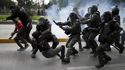 Tres muertos en las protestas contra el gobierno de Duque en Colombia