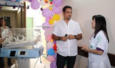 Más de la mitad de los equipos de terapia neonatal no funcionan en Itauguá, denuncia senador