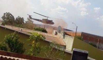 Fuerza Aérea investiga causas del aterrizaje forzoso en Pedro Juan