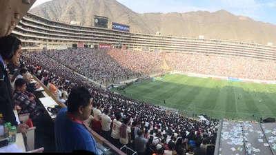 Asaltan en estadio de la final de Libertadores