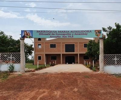 Asaltan a secretaria de la parroquia de Arroyito
